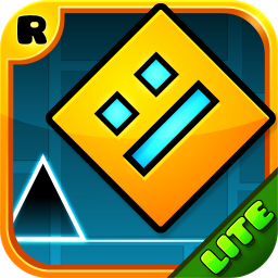 Логотип Geometry Dash Lite