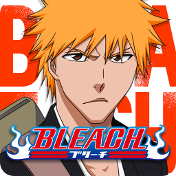 Логотип BLEACH Mobile 3D