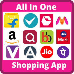 Логотип All in One Shopping App - Best Online Shopping App