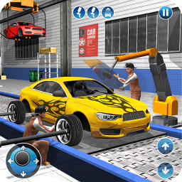 Логотип Car Maker Factory Mechanic